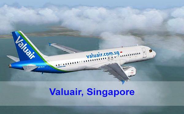 Hãng hàng không Valuair, Singapore