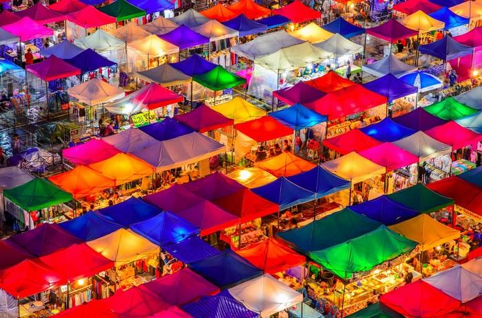 Khám phá 5 khu chợ nổi tiếng nhất Châu Á