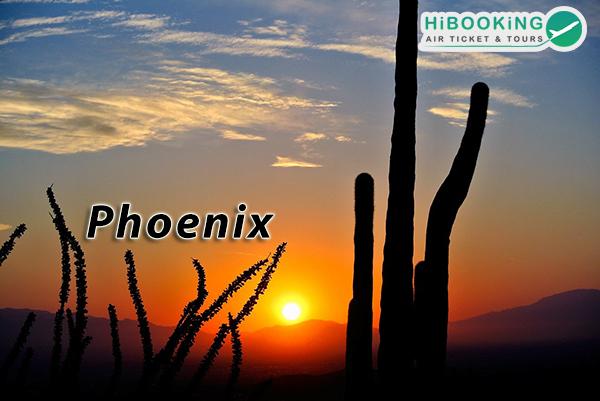Vé máy bay đi Phoenix