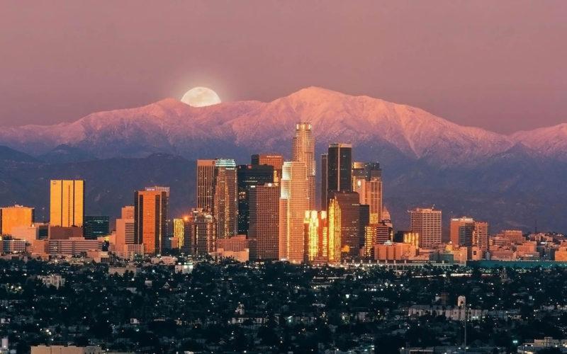 Vé máy bay đi Los Angeles tháng 4 từ 342USD