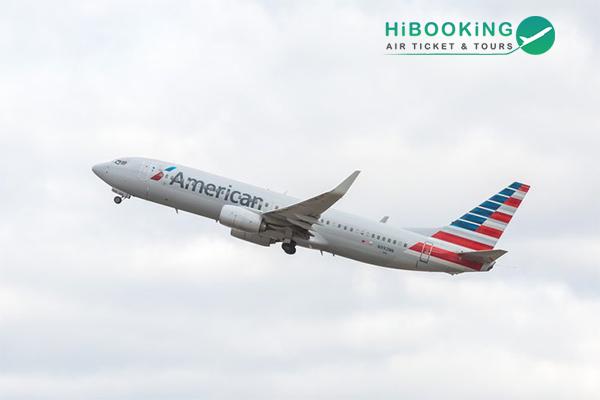 Vé máy bay đi Mỹ American Airlines từ 410 USD