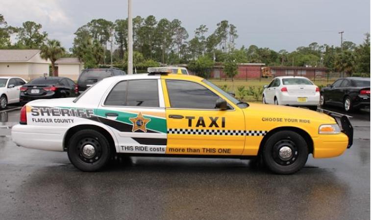 Orlando-taxi-policecar